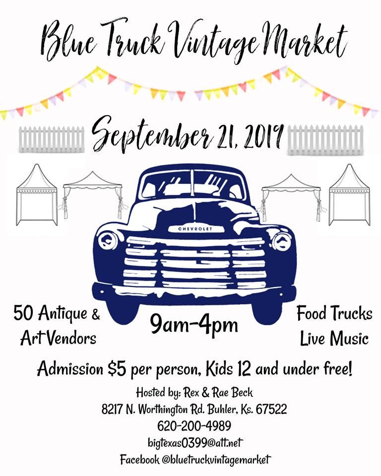 Event - blue truck market